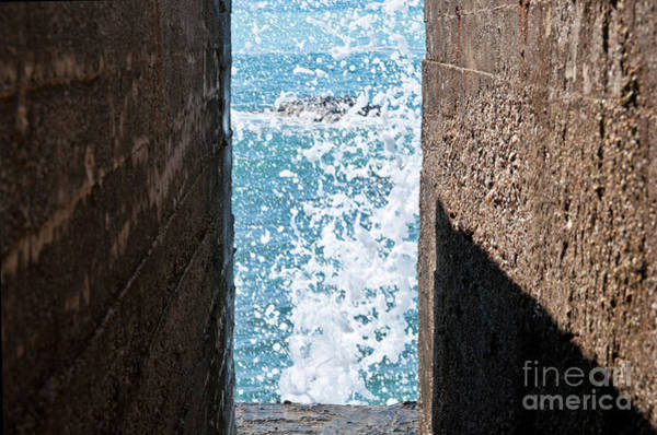 Photograph - Sicilian Sound Of Sea by Silva Wischeropp