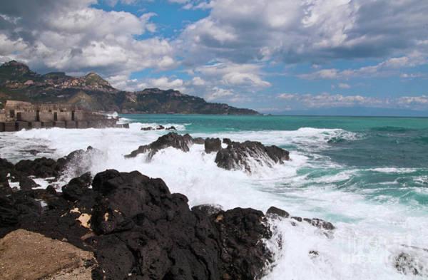Photograph - Sicilian Stormy Sound by Silva Wischeropp
