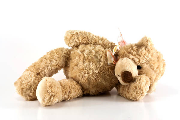 Sick Wall Art - Photograph - Sick Teddy Bear by Blink Images