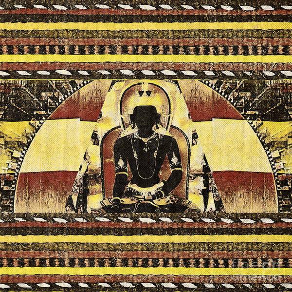 Mixed Media - Siddhartha Gautam by Lita Kelley
