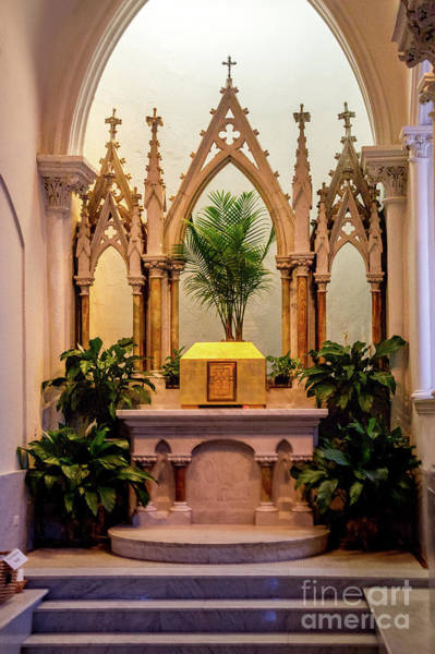 Photograph - Side Altar by William Norton