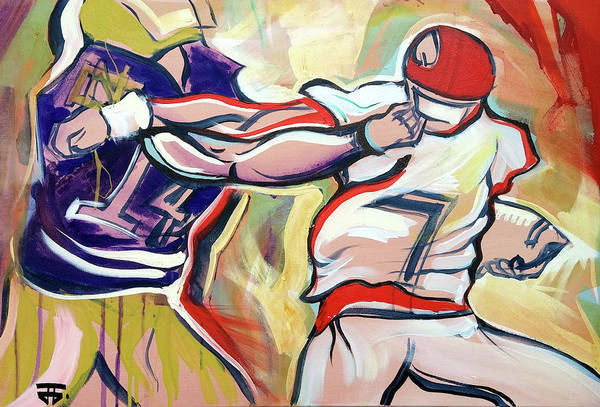 Painting - Side Arm Uga by John Jr Gholson