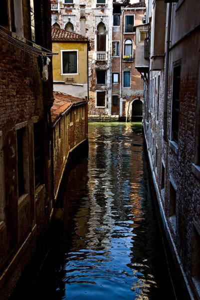 Photograph - Side Canal by Harry Spitz