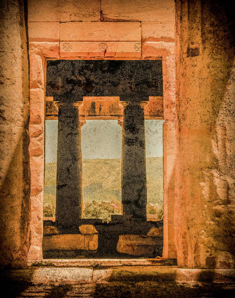 Photograph - Athens, Greece - Side Door by Mark Forte