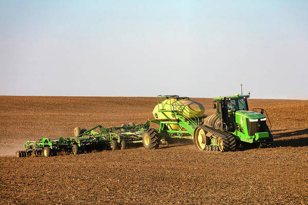 Photograph - Side Hill Seeding by Todd Klassy