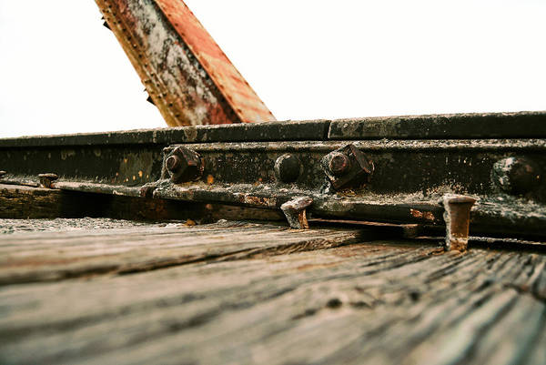 Side Of Rail #photography #trains Art Print