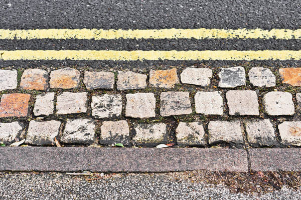 Yellow Brick Road Wall Art - Photograph - Side Of The Road by Tom Gowanlock