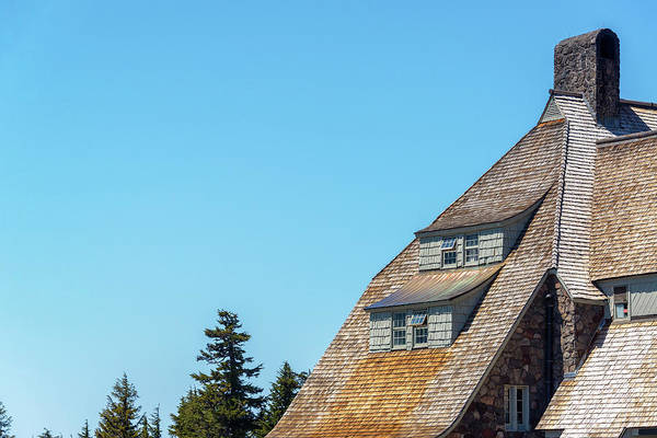 Timberline Photograph - Side Of Timberline Lodge by Jess Kraft