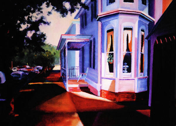 Painting - Side Street - Lambertville by Robert Henne