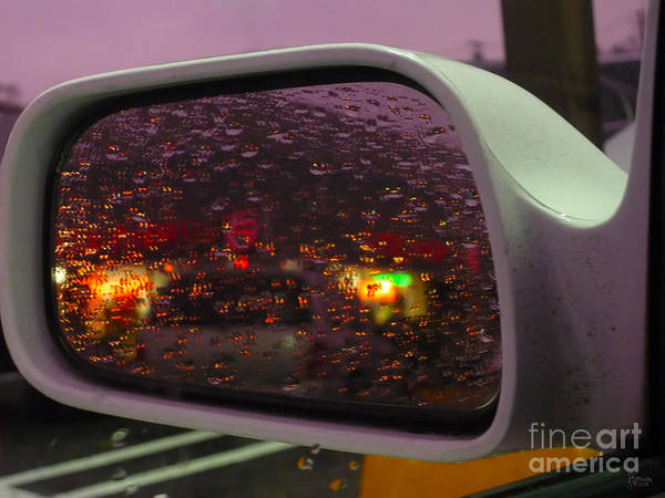 Photograph - Side View Mirror 2 by Jeff Breiman