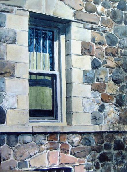 Painting - Side Window by William Brody
