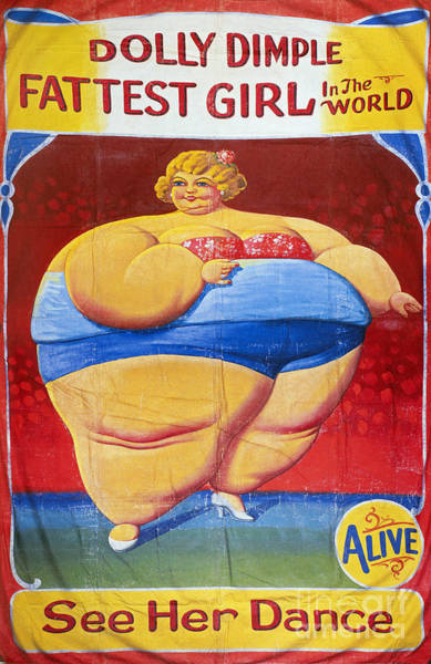 Aod Wall Art - Photograph - Sideshow Poster, C1949 by Granger