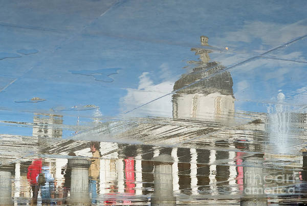 Photograph - Sidewalk Reflections I by Clarence Holmes