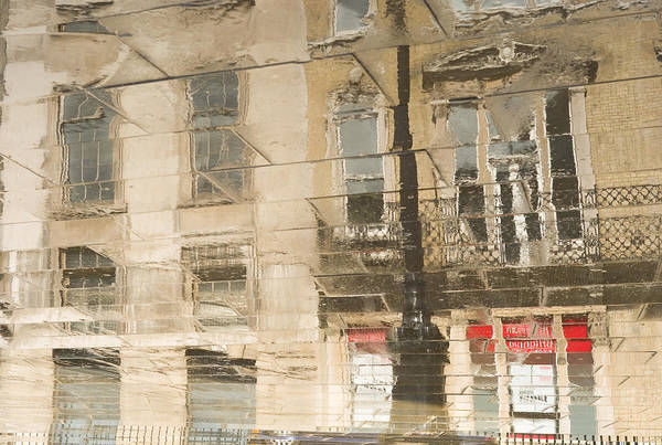 Photograph - Sidewalk Reflections II by Clarence Holmes