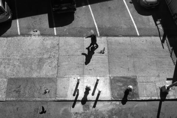 Photograph - Sidewalk Shadows by Dave Beckerman