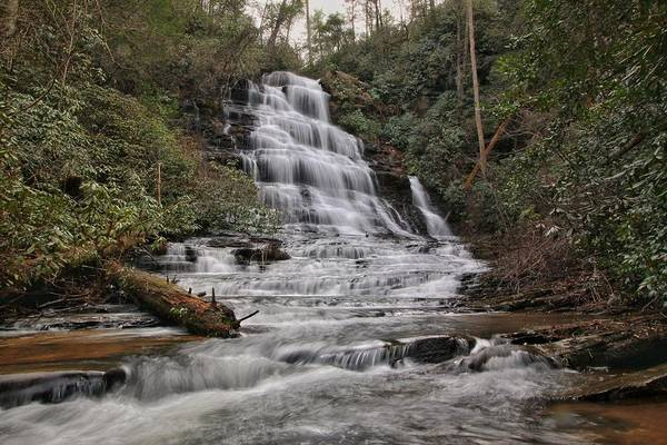 Photograph - Sids Falls by Chris Berrier