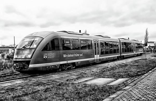 Photograph - Siemens Commuter Train by Anthony Dezenzio