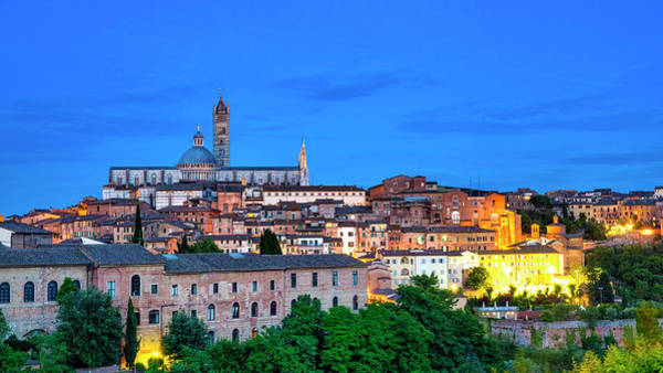 Photograph - Siena by Fabrizio Troiani