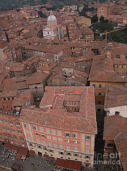Wall Art - Photograph - Siena From Above by Jim Wright