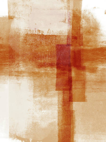 Artwork Painting - Sienna 1- Abstract Art By Linda Woods by Linda Woods