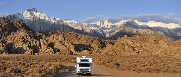 Motorhome Photograph - Sierra by Christian Heeb