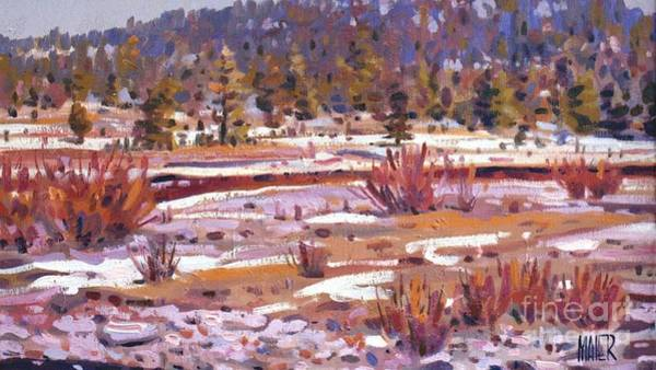 Sierra Nevada Painting - Sierra Creek by Donald Maier