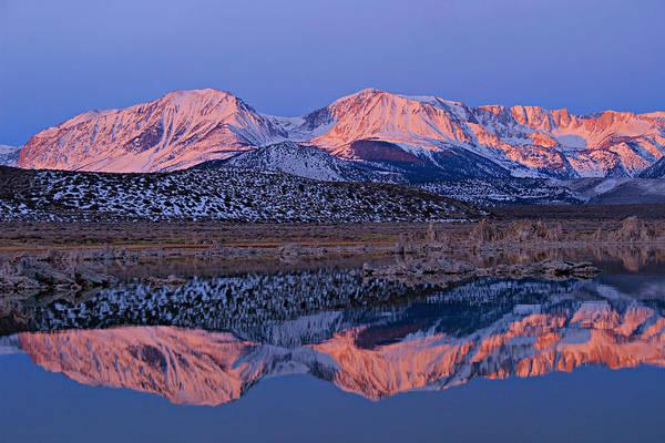 Photograph - Sierra Dawning by Sean Sarsfield