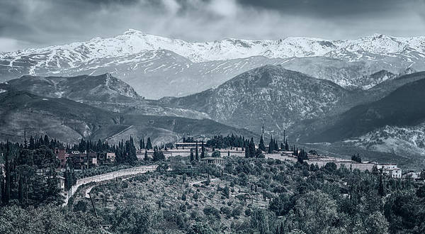 Photograph - Sierra Nevada Blue View by Joan Carroll