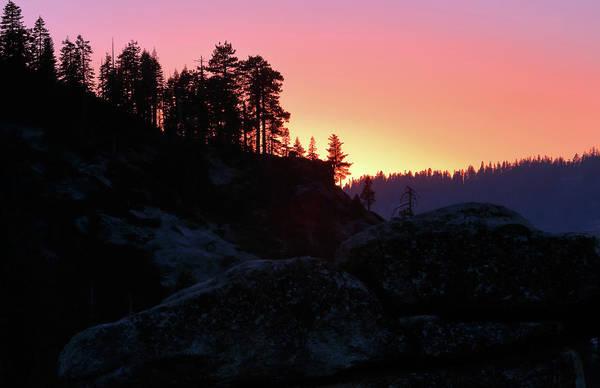 Photograph - Sierra Nevada Dusk by Nicholas Blackwell