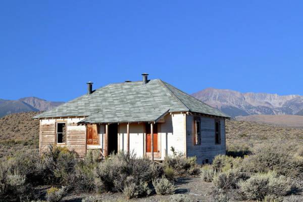 Photograph - Sierra Nevada Farmhouse by Nicholas Blackwell