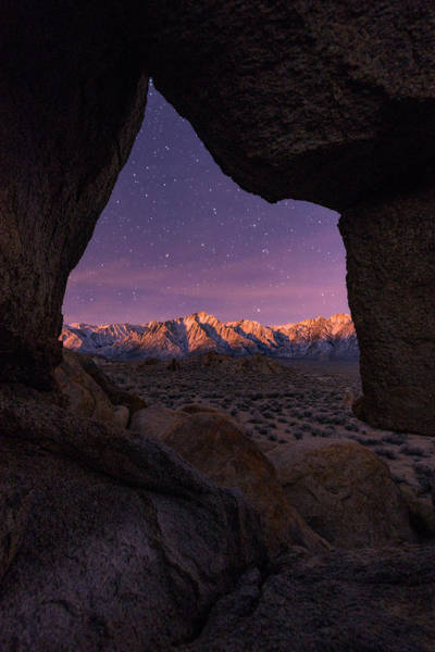 Photograph - Sierra Nevada Moon by Dustin LeFevre