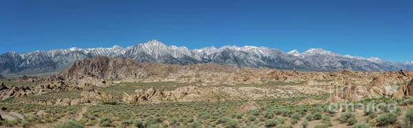 Sierra Nevada Photograph - Sierra Nevada Mountain Range by Michael Ver Sprill