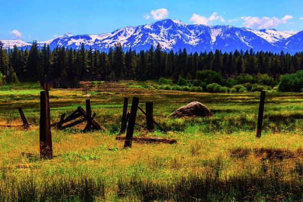 Sierra Nevada Photograph -  Sierra Nevada Mountains by Garry Gay