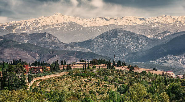 Granada Wall Art - Photograph - Sierra Nevada View by Joan Carroll