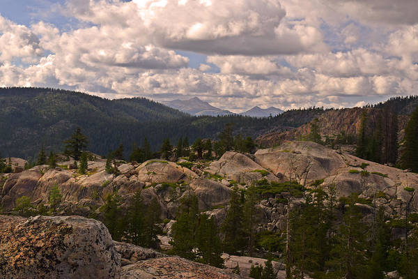 Glacial Erratic Photograph - Sierra Nevada Views by Frank Wilson