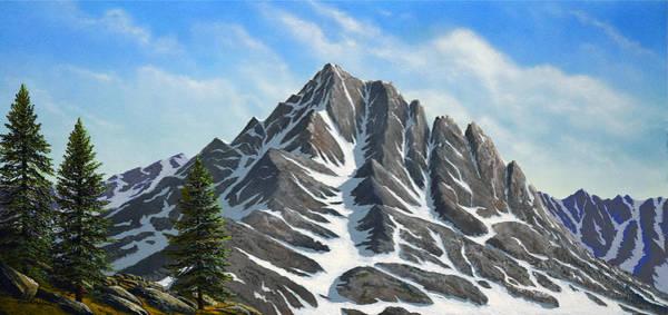 Painting - Sierra Peaks by Frank Wilson