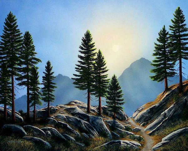 Painting - Sierra Sentinals by Frank Wilson