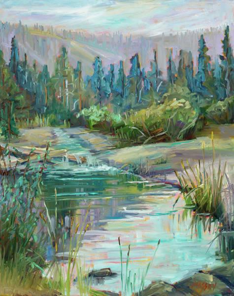 Desolation Painting - Sierra Waters by Marie Massey