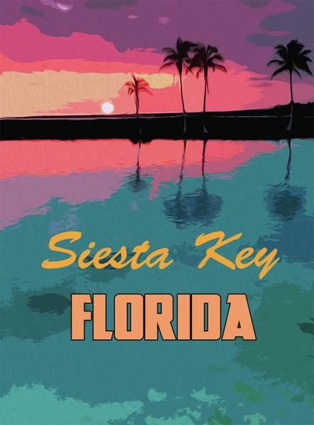 Painting - Siesta Key, Florida by Andrea Mazzocchetti