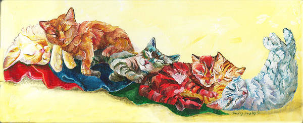 Painting - Siesta by Sherry Shipley