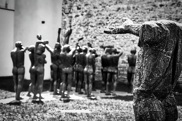 Photograph - Sighet Communist Museum Sculpture  - Romania by Stuart Litoff