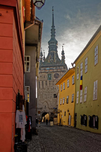 Photograph - Sighisoara Clock Tower by Adam Rainoff