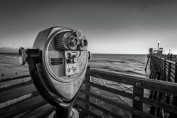 Oceanside Pier Photograph - Sightseeing by Peter Tellone