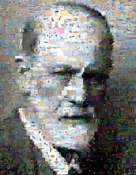 Psychiatrist Digital Art - Sigmund Freud Mosaic by Paul Van Scott