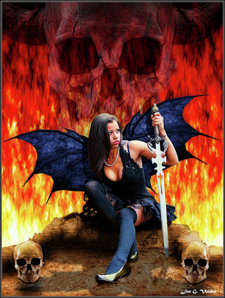 Photograph - Sign Of The Succubus                        by Jon Volden