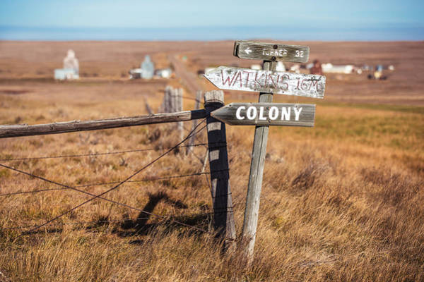 Middle Of Nowhere Photograph - Sign Post by Todd Klassy