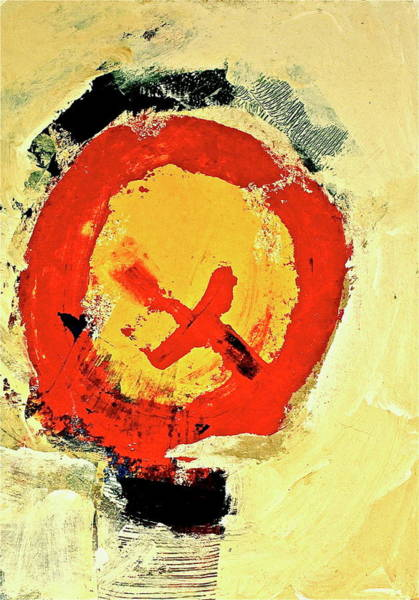 Painting - Signal  by Cliff Spohn
