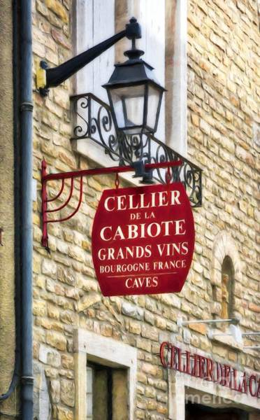 Wall Art - Photograph - Signs Of France by Mel Steinhauer