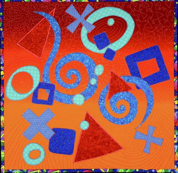 Tapestry - Textile - Signs Of Life by Pat Dolan