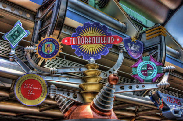 Tomorrowland Photograph - Signs Of Tomorrow by Joetta West